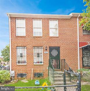 Residential Property for sale in 1515 RETREAT STREET, Baltimore City, MD, 21217