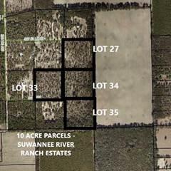 Land for sale in Lot 27 53 Lane, Trenton, FL, 32693