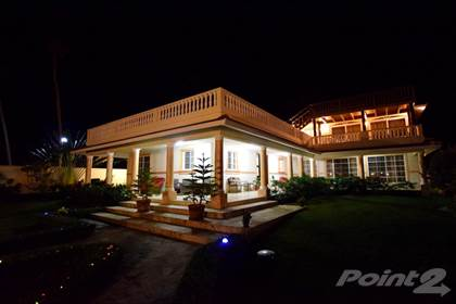 Residential Property for sale in Luxury Beachfront 7 bedroom villa near Cabarete, Gaspar Hernandez, Puerto Plata