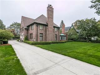 Single Family for sale in 854 EDGEMONT Park, Grosse Pointe Park, MI, 48230