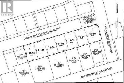 Vacant Land for sale in Lot 11-52 Tilmon ST, Dieppe, New Brunswick, E1A5S3