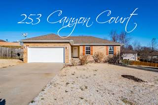 Single Family for sale in 253 West Canyon Court, Nixa, MO, 65714