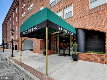 Residential Property for sale in 960 FELL STREET 202, Baltimore City, MD, 21231