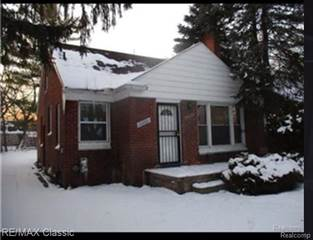 Single Family for sale in 20261 FORRER Street, Detroit, MI, 48235