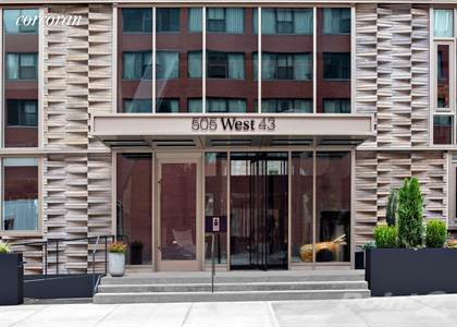Condo for sale in 505 West 43rd Street, Manhattan, NY, 10036