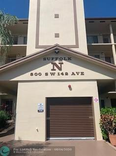 Residential Property for sale in 800 SW 142nd Ave 208 N, Pembroke Pines, FL, 33027