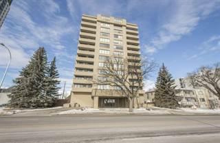 Condo for sale in 8340 JASPER AV NW, Edmonton, Alberta