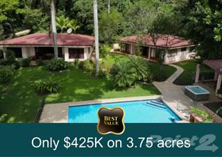 Residential Property for sale in Title  Two villa income property on 3.75 acres $425K with FINANCING, Puriscal, San José