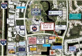 Land for sale in 510 Northwest University Boulevard, Port St. Lucie, FL, 34986