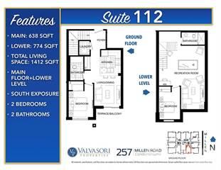 Condo for sale in 257 Millen Road 112, Hamilton, Ontario, L8E 2H1