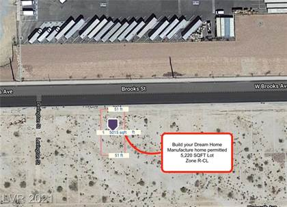 Lots And Land for sale in 000 Brooks, North Las Vegas, NV, 89030