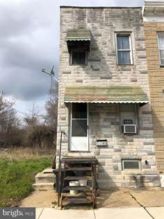 Residential Property for sale in 2636 LEHMAN ST, Baltimore City, MD, 21223