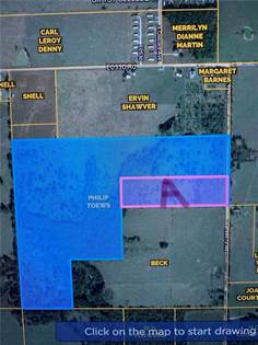 "Lots And Land for sale in TBD ""A"" N4670  RD, Colcord, OK, 74338"