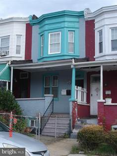 Residential Property for sale in 503 POPLAR GROVE ST, Baltimore City, MD, 21223