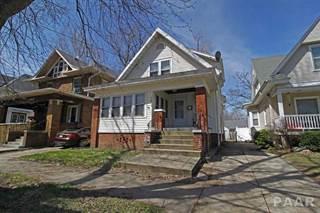 Single Family for sale in 1217 N GARFIELD Avenue, Peoria, IL, 61606