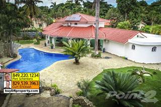 Residential Property for sale in 2 houses, 6 bedrooms on big lot GREAT DEAL, Sosua, Puerto Plata