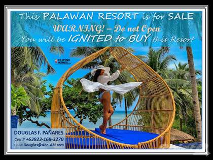 Other Real Estate for sale in Palawan Beach Resort Hotel is for Sale, Don't Open, it will Ignite you to Buy this Resort, Taytay, Palawan