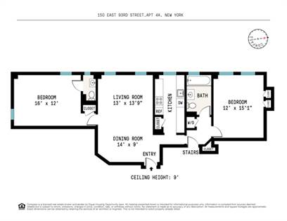 Residential Property for sale in 150 East 93rd Street 4-A, Manhattan, NY, 10128