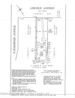 Lots And Land en venta en 124 Lincoln Avenue, Staten Island, NY, 10306