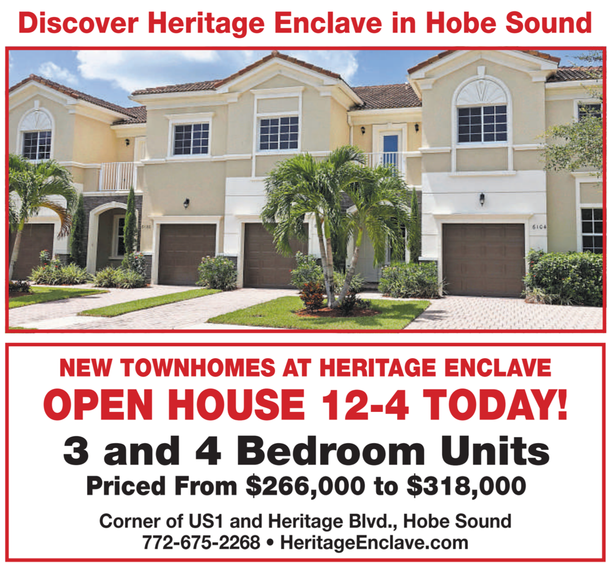Heritage Enclave Townhomes at heritage ridge, Hobe Sound